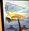 I'm trying to design new Real-angled version Star destroyer origami !