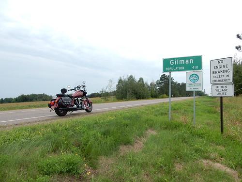 08-28-2015 Ride - Gilman,WI