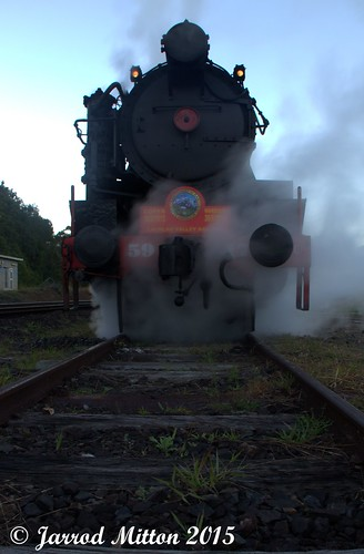 Early Morning Steam