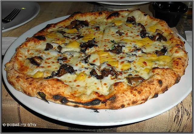 Funghi Misti בפיצרייה דה פפה