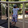Conquering fears at the park