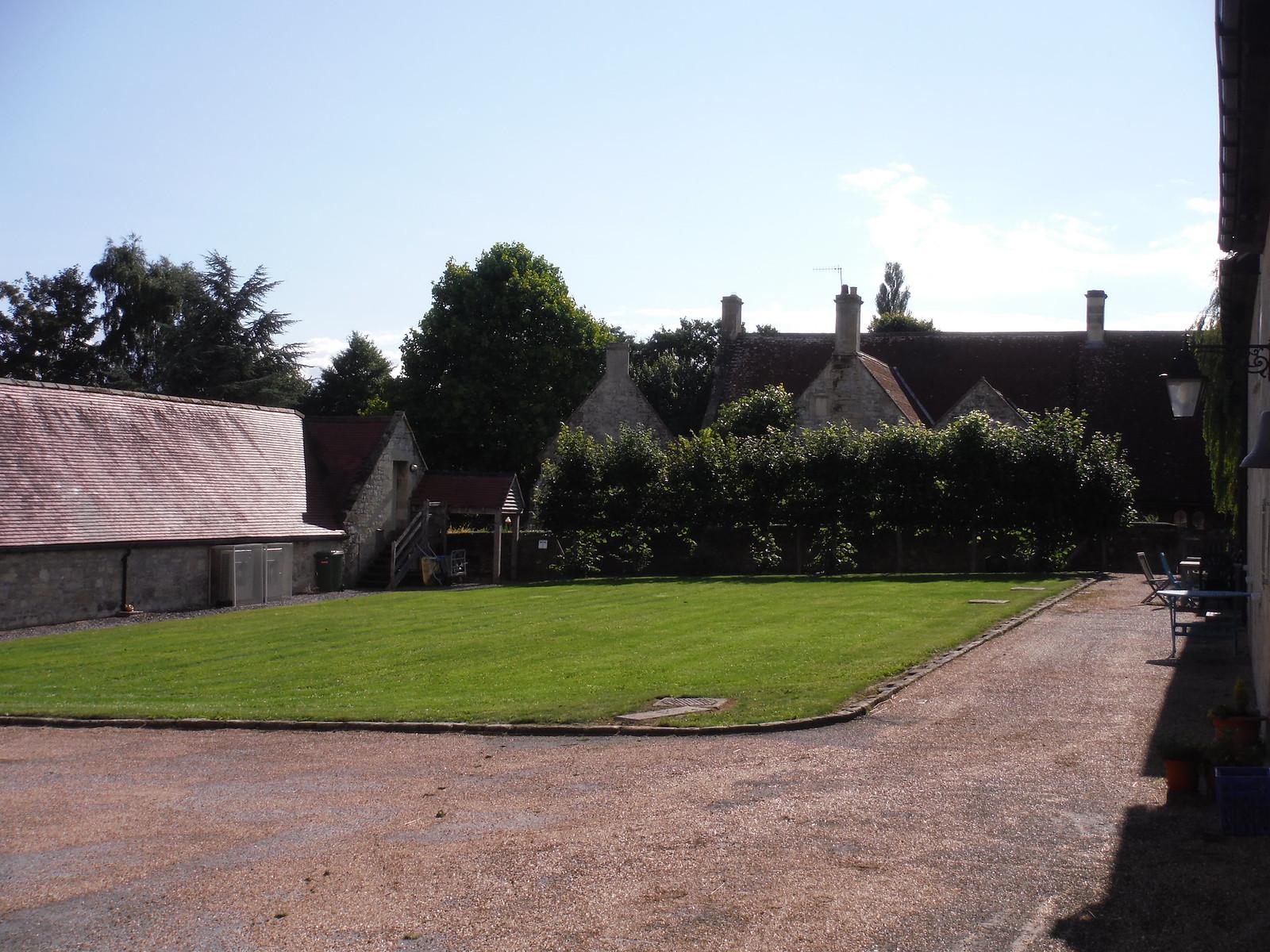 Place Farm, Tisbury, Courtyard SWC Walk 248 Tisbury Circular via Hindon