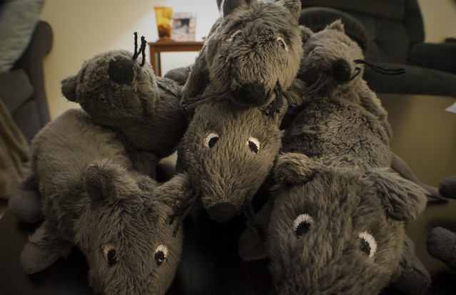 Rat pile!