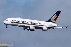Singapore A380-800 9V-SKM
