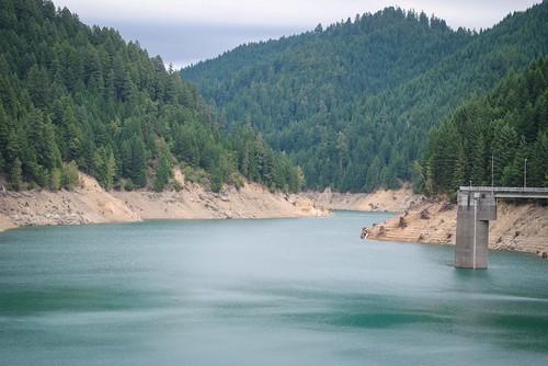 Blue River Lake Dam