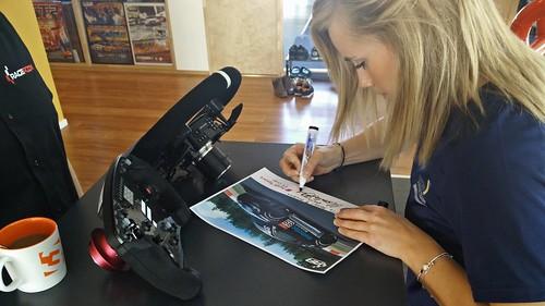 RaceRoom Racing Experience Mikaela Ahlin-Kottulinsky