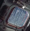 Lines on Apollo 12's Command Module Window by sjrankin