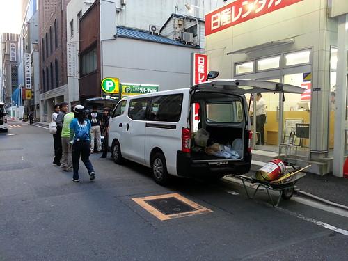 茨城県常総市で水害ボランティア(援人 0920・21・22・23便 関東・東北豪雨 2015年9月)
