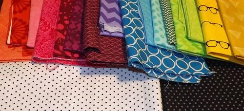 Rainbow Brite Fabric Pull