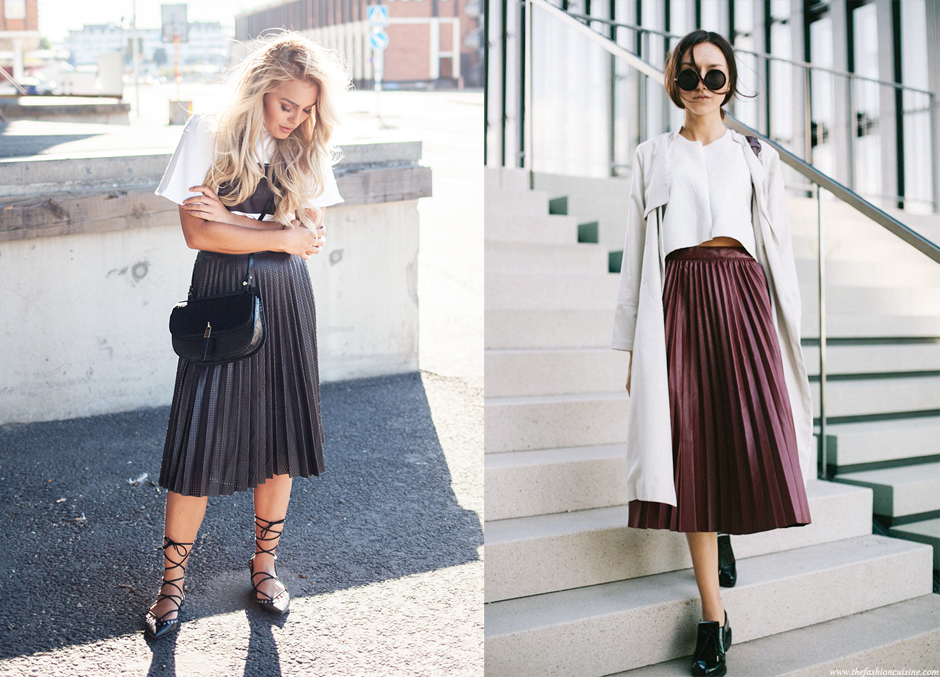fall-trend-pleated-skirt-leather