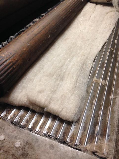 Batt of fiber