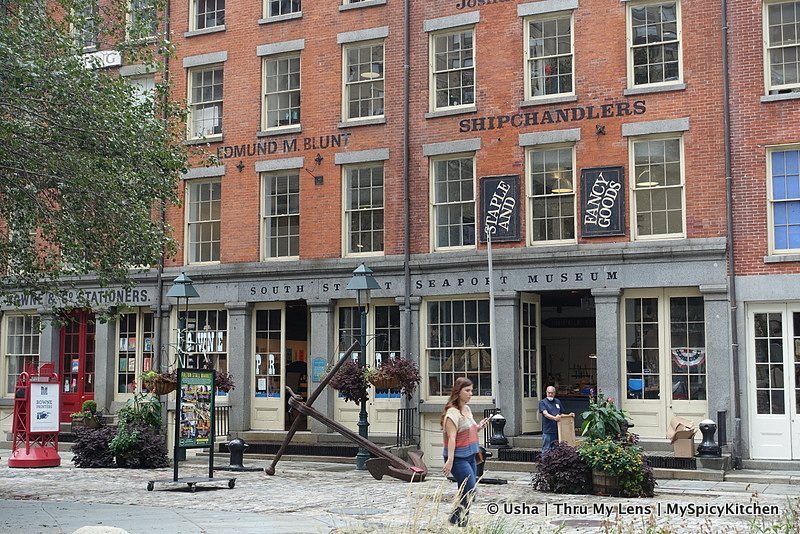 South Street Seaport, South Street Seaport Museum