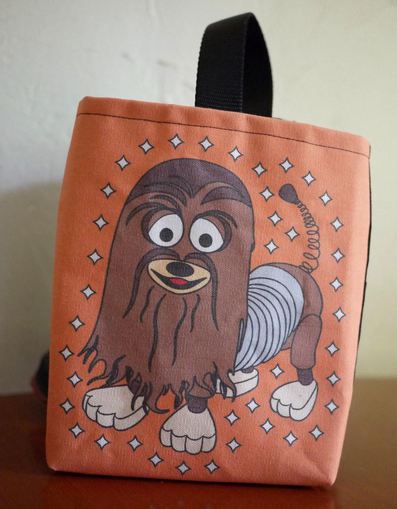 Woody Solo Costume in Progress: Slink/Chewbacca Treat Bag