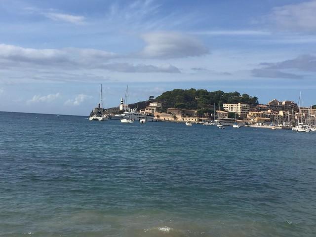 Havsutsikt i Port De Soller