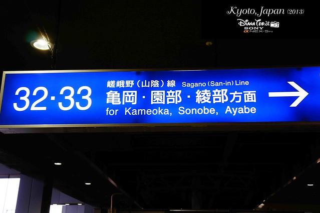 Kyoto JR Sagano Line