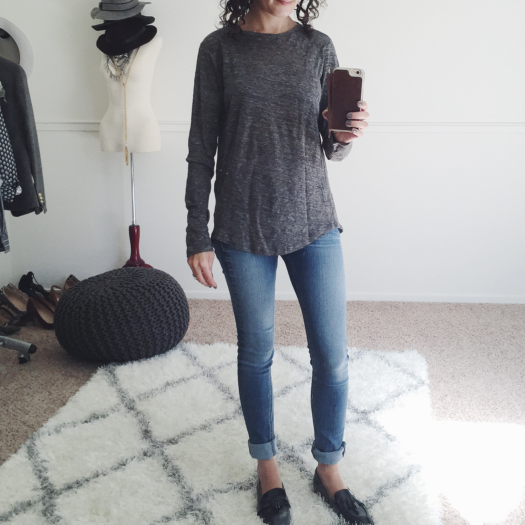 gap linen tee shirt review