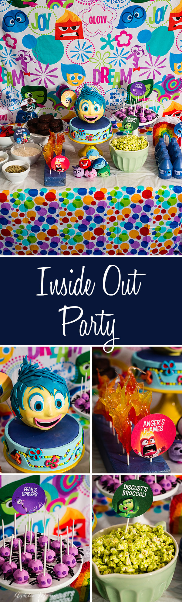 Everyone loves disney's Inside Out Movie, and now you can throw the perfect party or family movie night