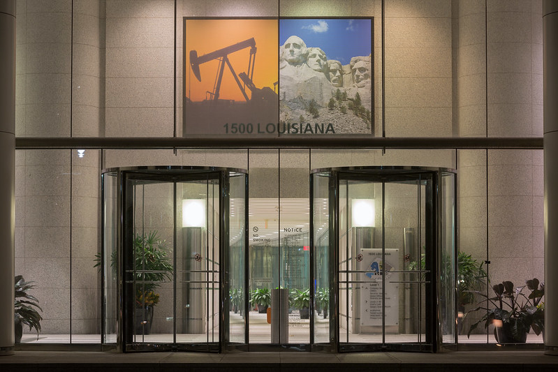Chevron Corporate Office Entrance, Houston, Texas