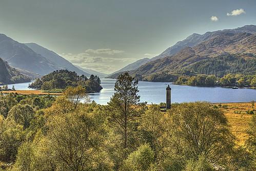 scotland lochshiel glenfinnan