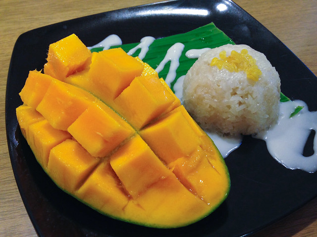 mango aloha-sticky-rice