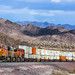 BNSF 7658 stack train by Lee Baxter 57