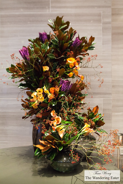 Beautiful autumn floral centerpieces