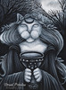 Druid Priestess Cat