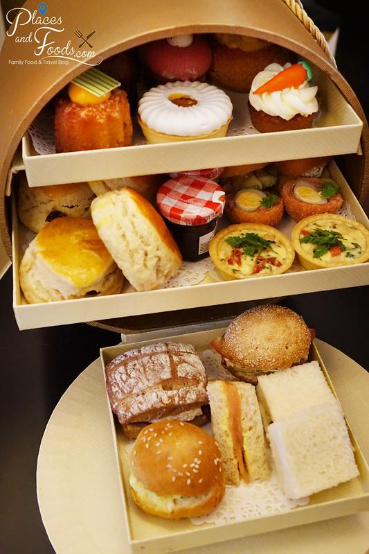 majestic hotel afternoon tea box