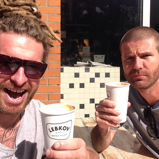 Coffee with the Jos.