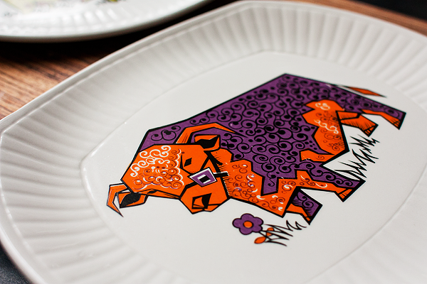 vintage-cow-plate-1