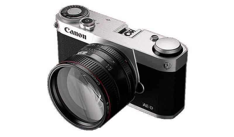 Canon un brevet d crit un 50mm f 3 5 is pour un sans for Appareil photo sans miroir
