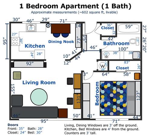 CA Apartment Layout