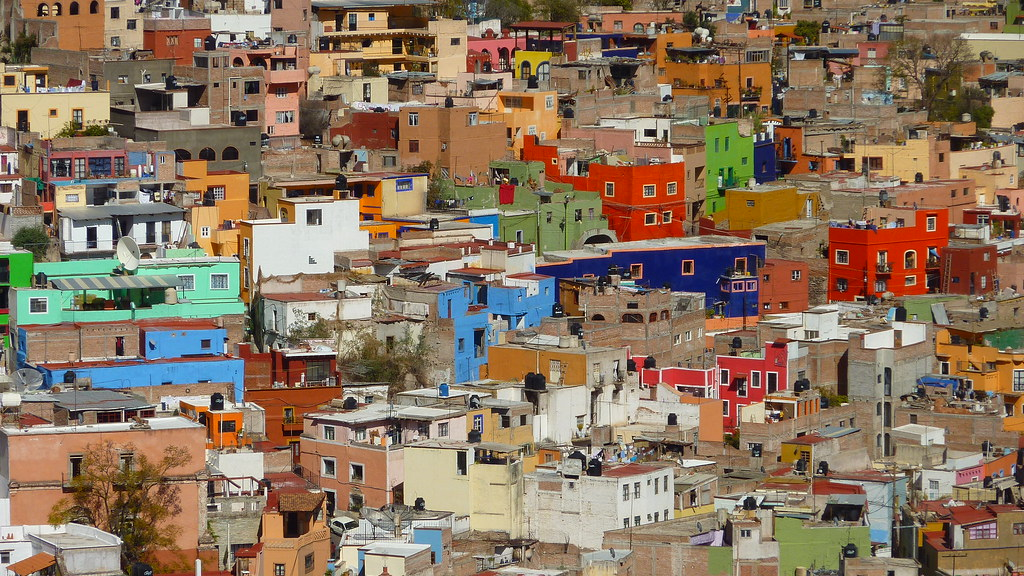 Colours of Guanajuato, Mexico