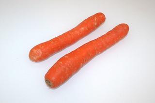 14 - Zutat Möhren / Ingredient carrots