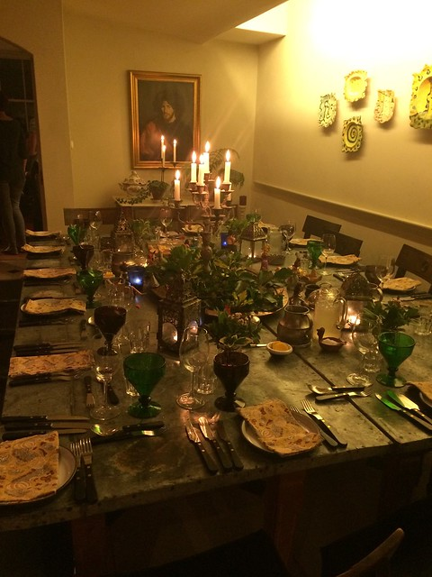Darina Allen's Dining Room Table