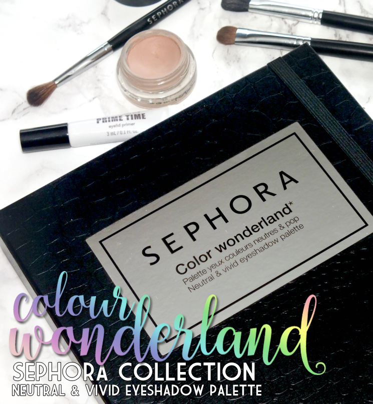 Sephora Collection Colour Wonderland Neutral & Vivid Eyeshadow Palette (1)
