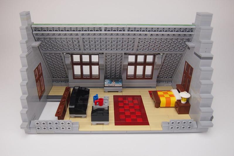 Eiscafé Rialto living room and bed