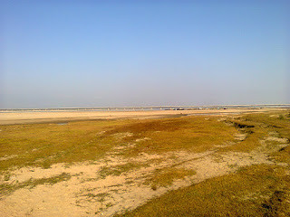 A Part of DHola Bridge frm 2km Distance