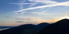 Sunset Over The Jura