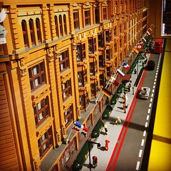 Harrods in Lego #london #harrods #lego