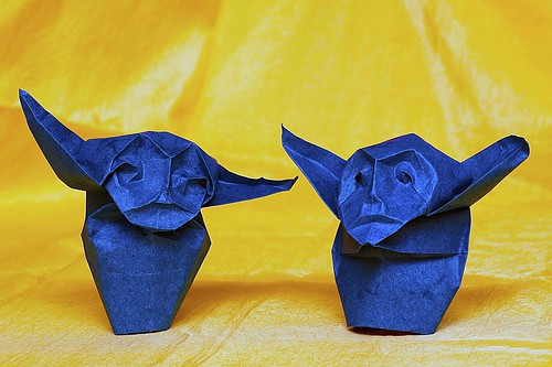 Origami Father and Son