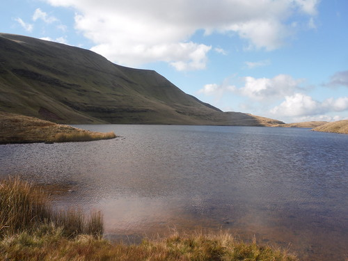 Llyn y Fan Fawr and Fan Foel
