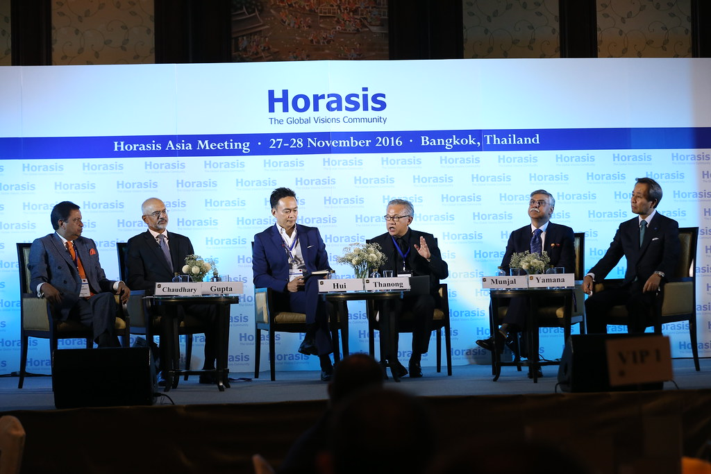 Horasis opening plenary on Asia's Vision of the Future