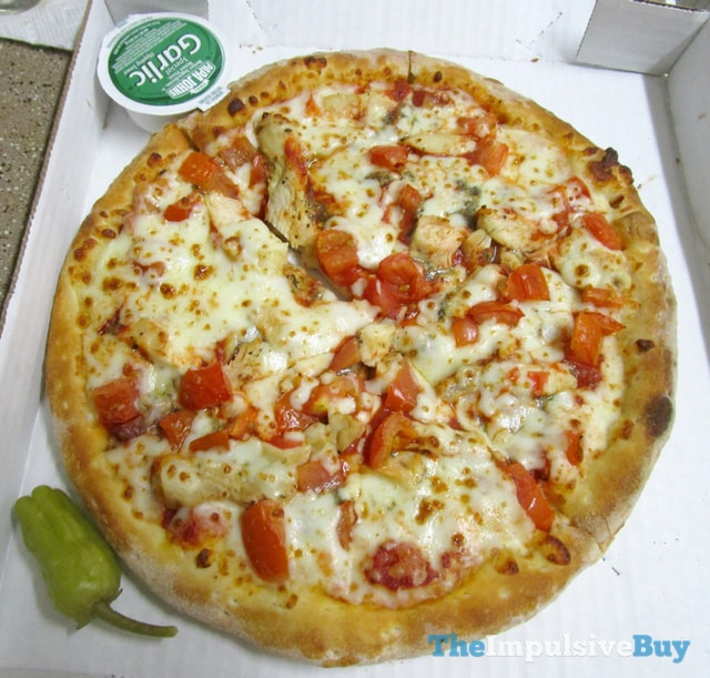 Papa John's Grilled Chicken Margherita Pizza