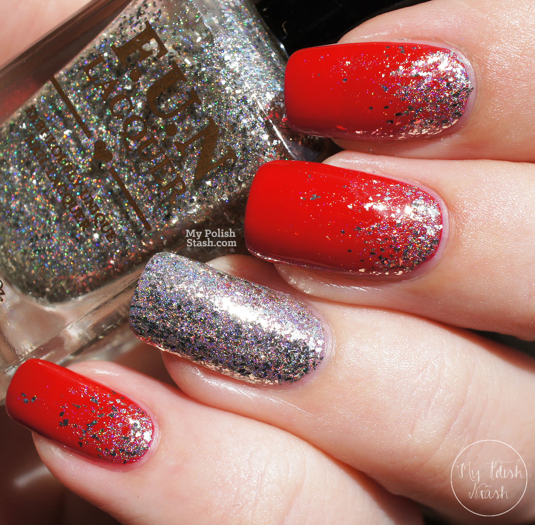essie-really-red-FUNlacquer-pay-day-glitter-gradient-1