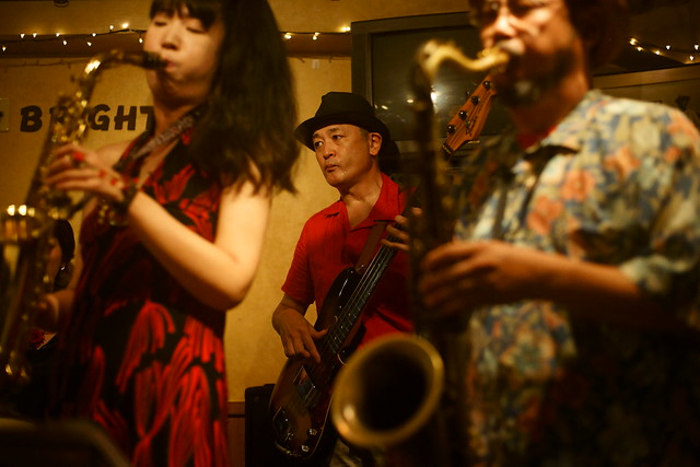 Blues live at Bright Brown, Tokyo, 16 Aug 2015. 143