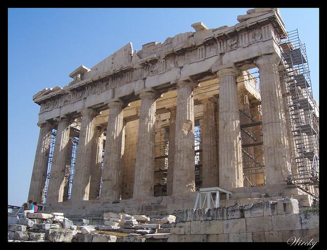 Grecia visita Atenas - Partenón