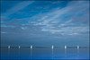 Sailboats.     Gulf of Morbihan by Claire Pismont