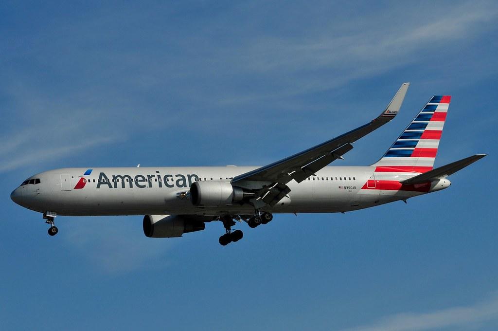 N350AN - B763 - American Airlines