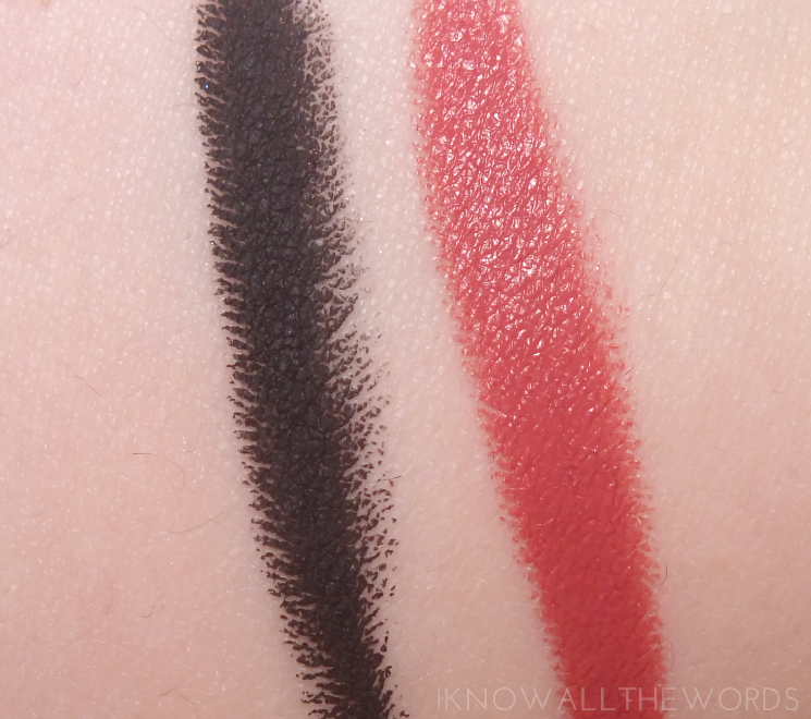 mirabella jewel thief collection holiday 2015 blackmail eye crayon wanted velvet lip pencil